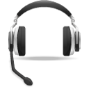 App-voice-support-headset-icon